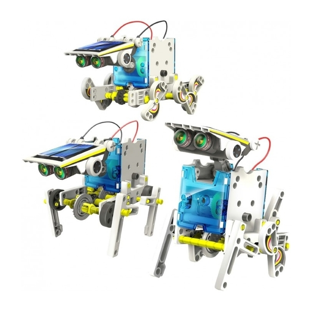 14 in 1 educational solar robot konstruktorius Green Energy