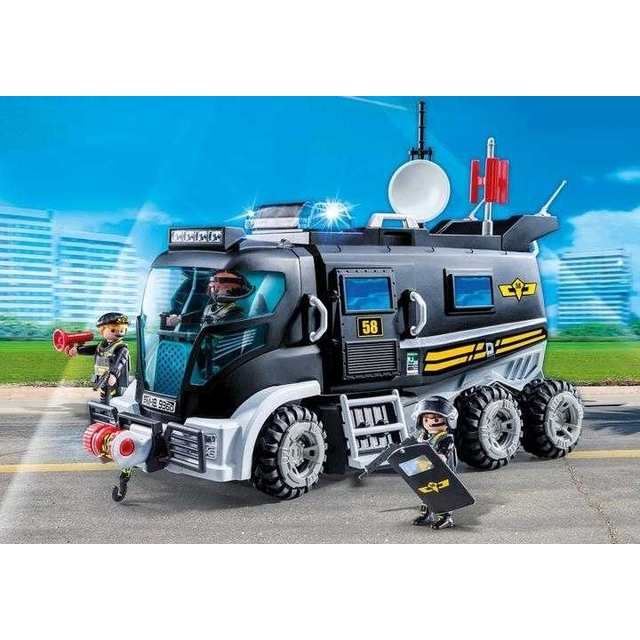 9360 PLAYMOBIL City Action, Rescue truck with sounds and lights