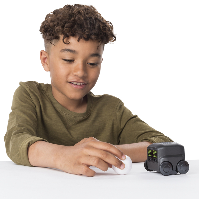 Boxer Interactive A.I. Robot Toy with Personality & Emotions black