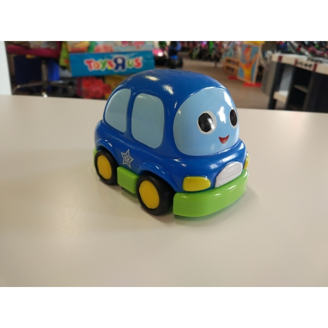 Zoom City Pull-Back Cars Blue