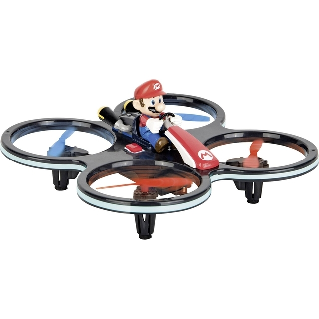 Carrera RC Nintendo Mini Mario Copter Quadcopter