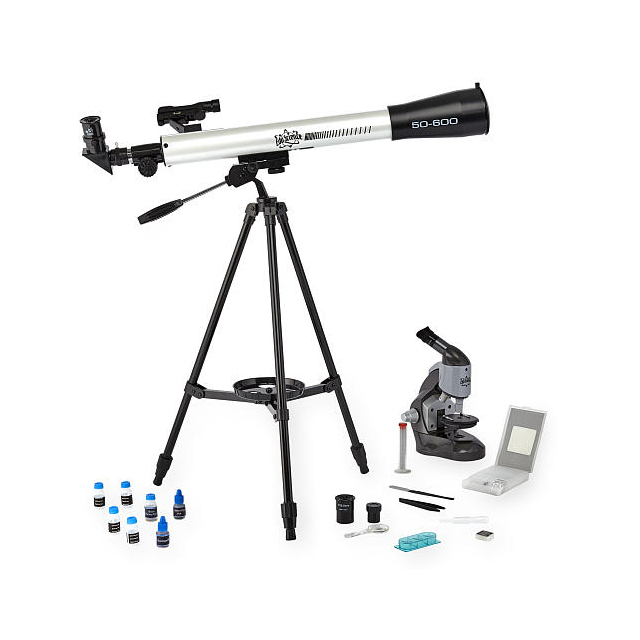 Edu Science Microscope & Telescope Combination Set