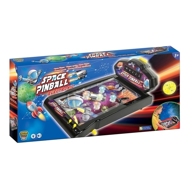 Electronic Space Pinball