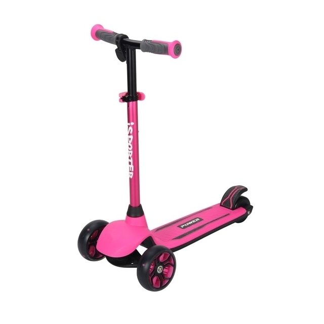 iSporter Power 2 in 1 Pink Anodised Scooter