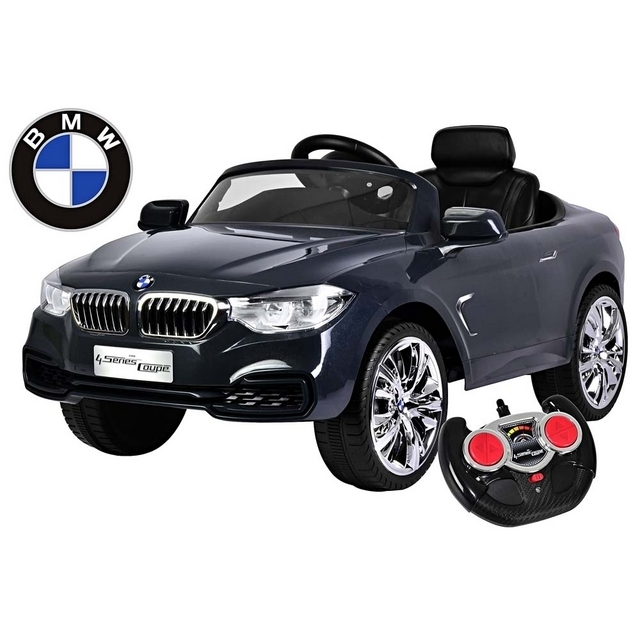 6V electric BMW 4 Series Coupe with remote control