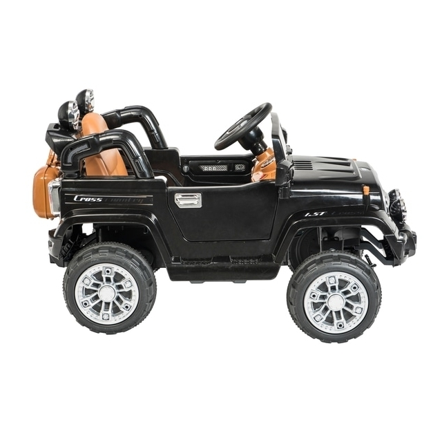 Black Jeep 6V Electric Ride On