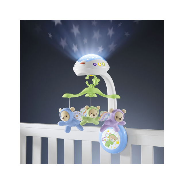Fisher Price Музыкальная карусель Butterfly Dreams  3 in 1