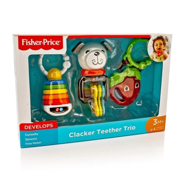 Fisher-Price Clacker Teeth Trio