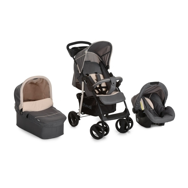 Hauck - Travelsystem Shopper SLX Trio Set, Stone