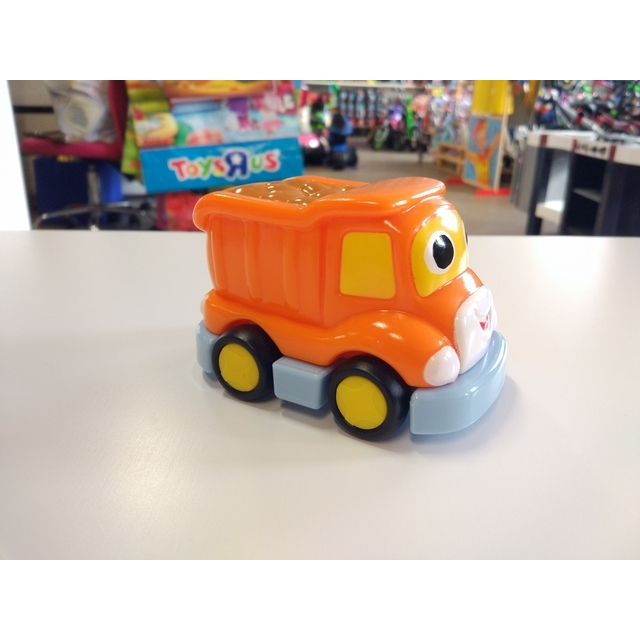 Zoom City Pull-Back Cars Orange
