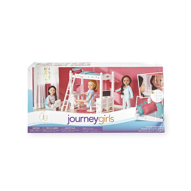 Journey Girls Wooden Bedroom Set