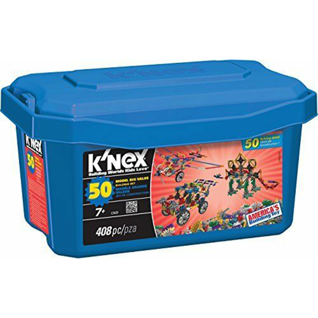 KNex 33122 Building Set, 50 Model Big Value, 408 Pieces
