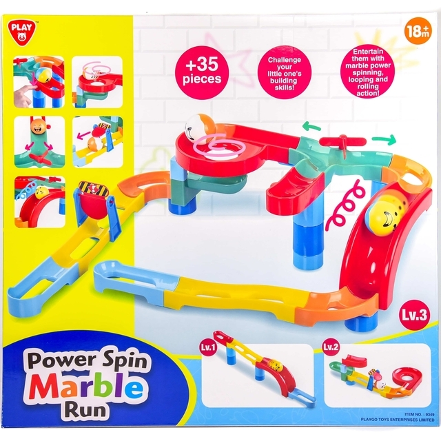 Playgo Power Spin Marble Run Extra