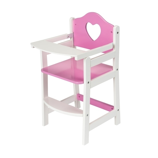 Doll's Wooden Highchair