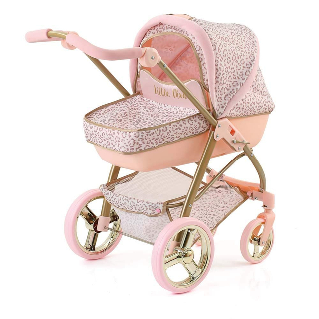Hauck Little Diva Doll's Boston 2 in 1, Rose/Gold