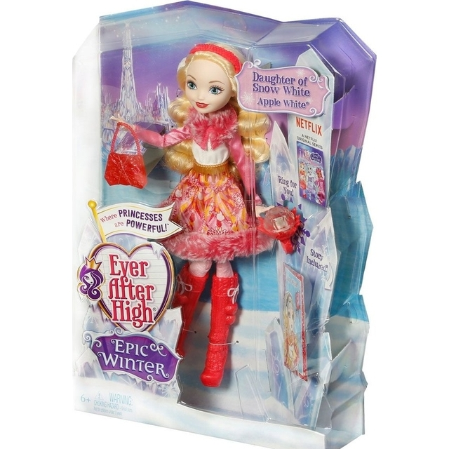 Ever After High Epic Winter Apple White Doll Mattel