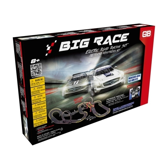 Electric Power Big Race Road Racing Set
