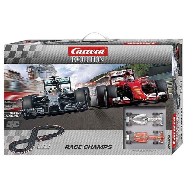 Carrera Evolution Race Champs Ferrari/Mercedes F1