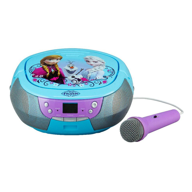 Disney Frozen CD Boombox with Microphone