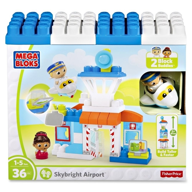 MEGA BLOKS First Builders Skybright Airport