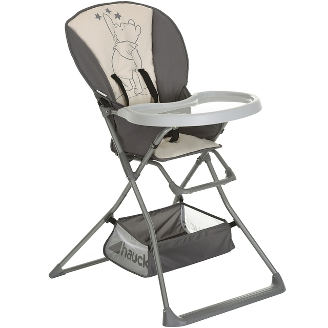 Hauck Winnie The Pooh Deluxe Highchair Stars Grey