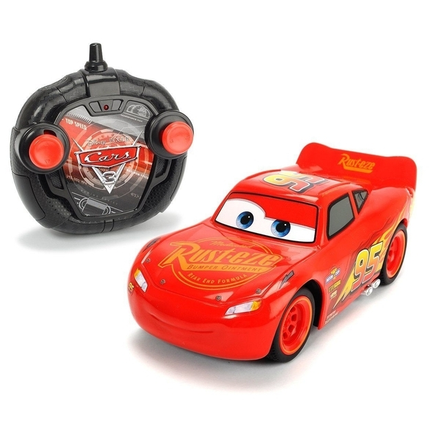 Cars 3 Turbo RC Racer Lightning Mcqueen Reliable Toy 1:24