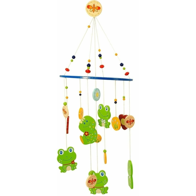 Bieco Holzmobile Frosch mobile Froggy