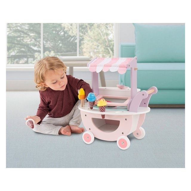 Squirrel Play Wooden Ice Cream Trolley