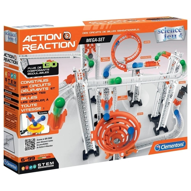 "Educational game action reaction ""Mega track"" Clementoni"