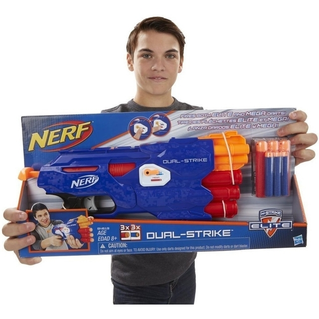 NERF Rifle Dual Strike