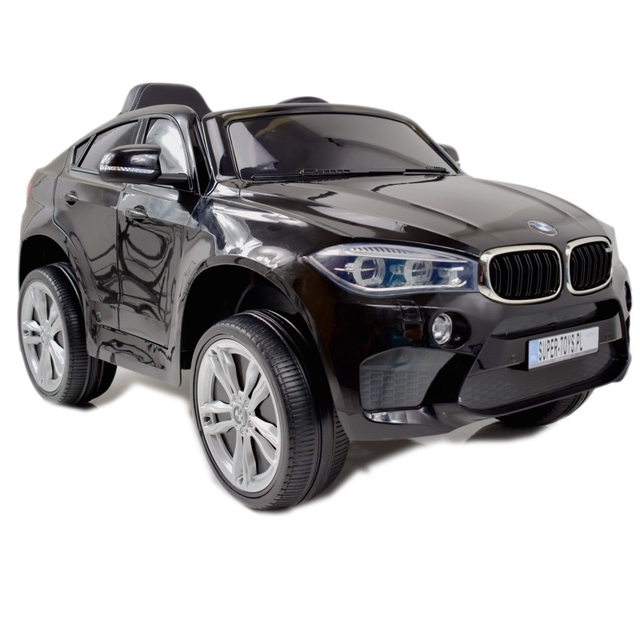 Original black electric car BMW X6M 2199 with remote control
