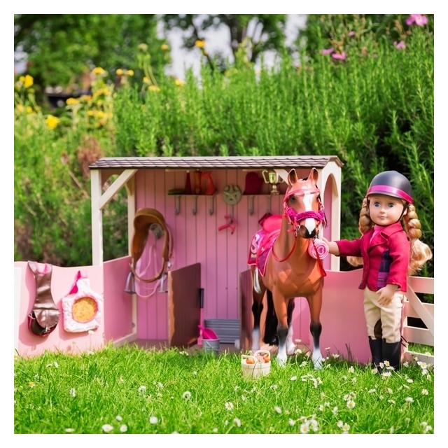 Our Generation, Saddle-Up Stables, Horse Barn for 18-inch Dolls