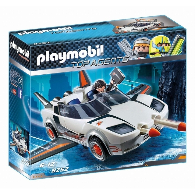PLAYMOBIL 9252 Top Agents Agent P. Su automobiliu