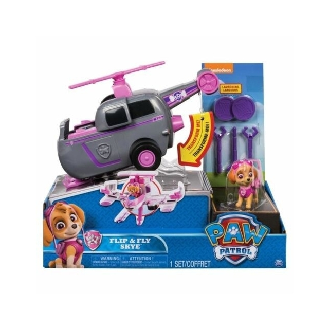 Paw Patrol Flip & Fly Skye Vehicle Helicopter