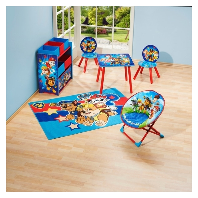 Paw Patrol Tables and 2 Chairs - Chase