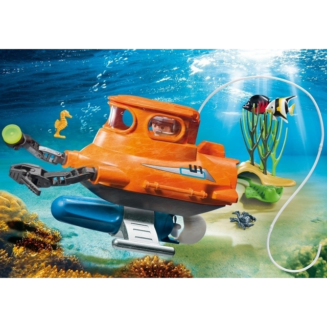 PLAYMOBIL 9234 Submarine with Underwater Motor