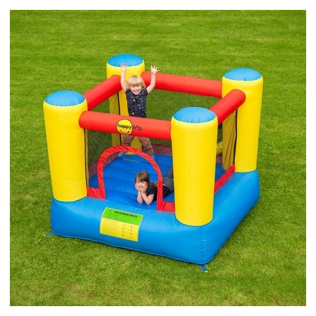 Happy Hop Airflow Inflatable Red Blue Jumping Castle