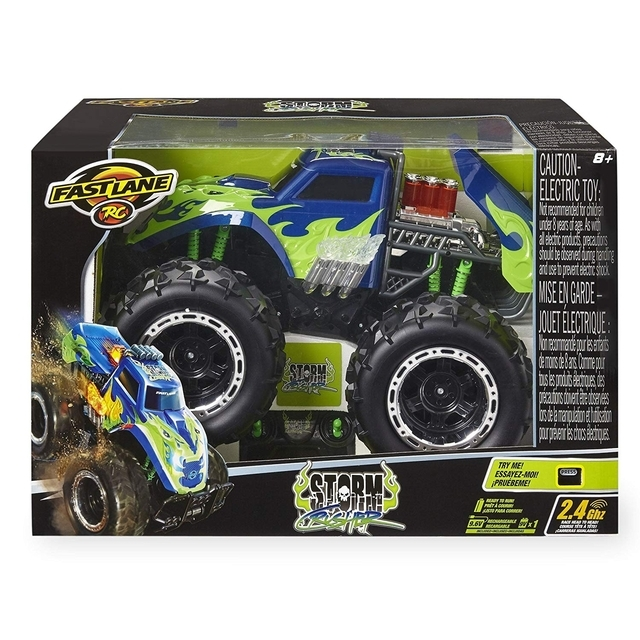 Fast Lane 1:8 Scale Remote Control Vehicle - Storm Crusher 2.4 GHz