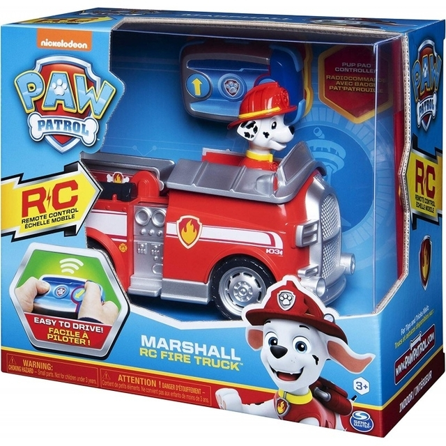 Spin Master Paw Patrol Marshall Remote Control Fire Truck