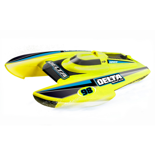 Delta Yellow radio controlled boat - NINCO