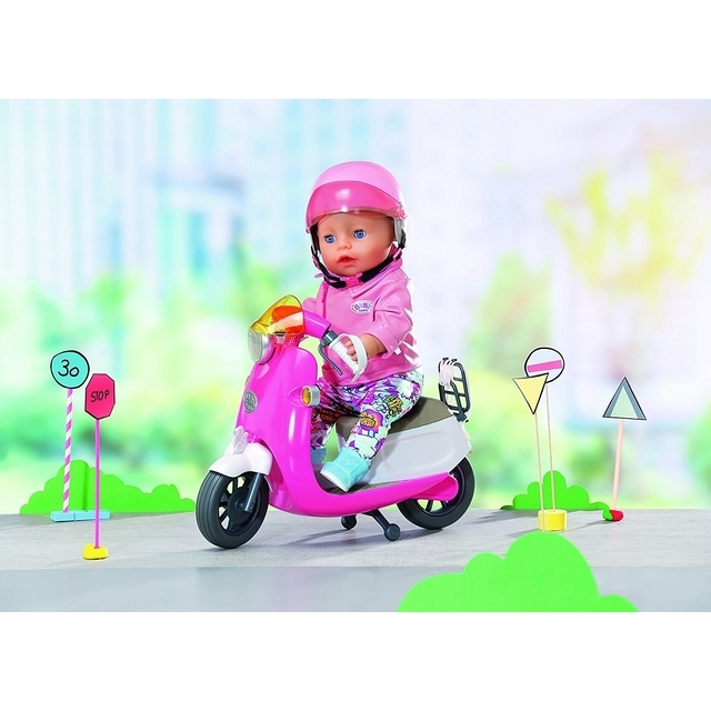 BABY Born City Remote Control Scooter  (be pakuotės)
