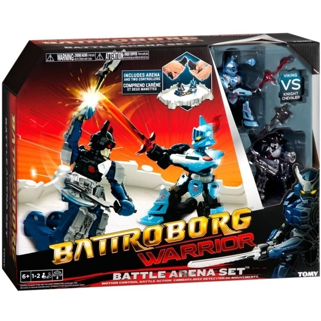 Battroborg Warrior Battle Arena Set - Motion Control Battle Action