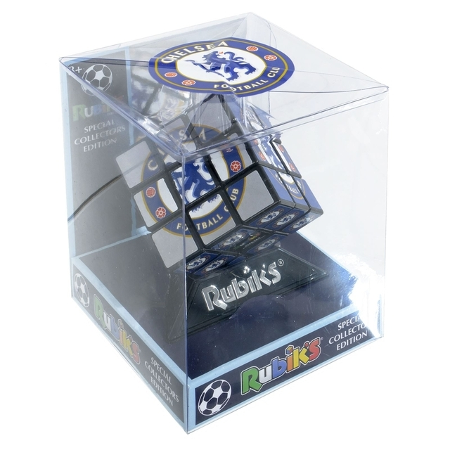 Rubik's Cube Puzzle Game Chelsea Football Collectors Edition
