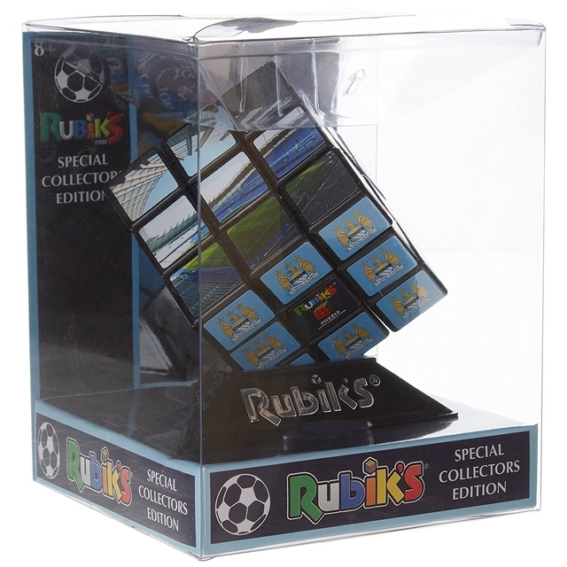 Rubik's Cube Puzzle Game Manchester City Football Collectors Edition