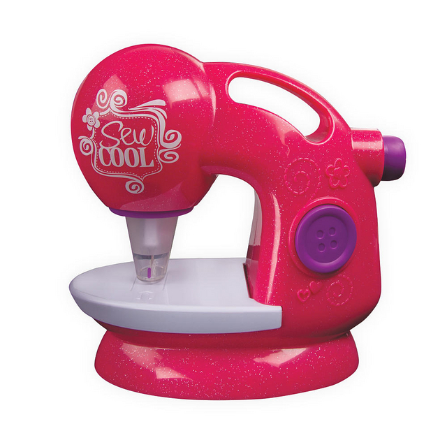 Sew Cool Machine Pink Glitter