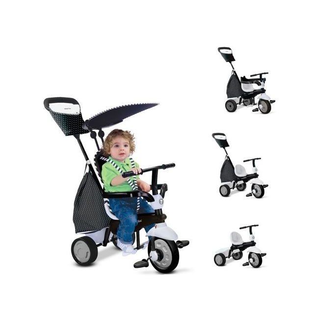 SMART TRIKE Glow 4 in 1 Black & White