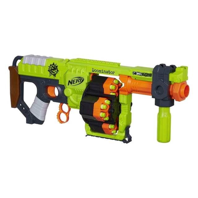 NERF Zombie Strike Doominator Blaste (without original packaging)