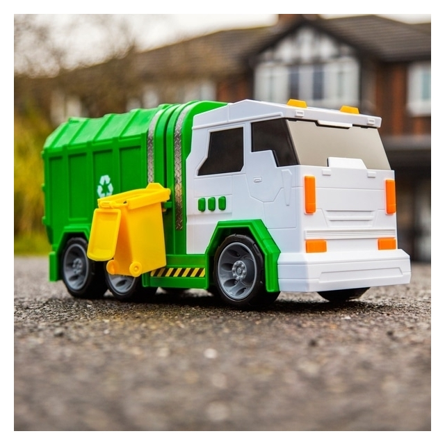 Garbage and Dump Truck Set