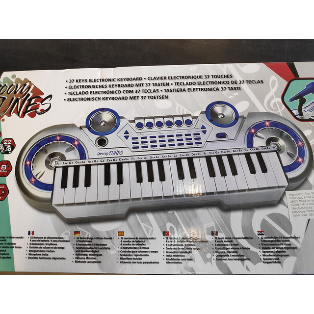 37 Keys Electronic Keyboard Groovie