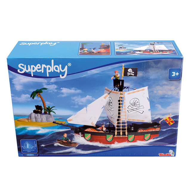 Smoby Superplay Pirate Ship